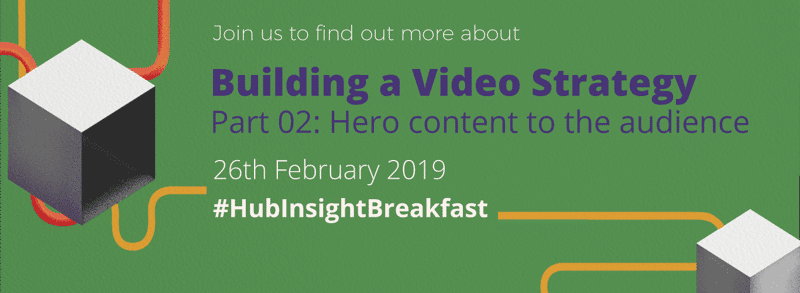 Building a video strategy - hero content